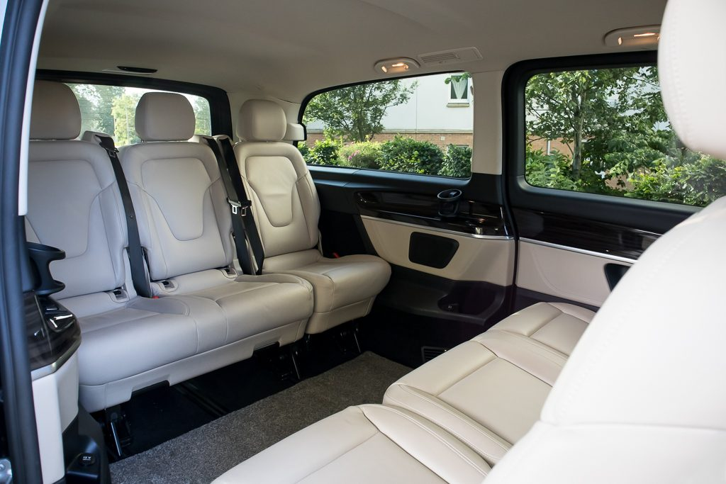 Photo of Mercedes V Class rear cabin